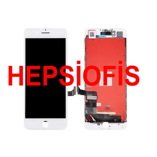 Iphone 7 Uyumlu Beyaz Lcd Dokunmatik Ekran AAA Kalite