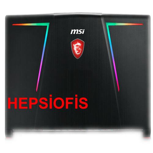 MSI GE73 GE73VR 7RF-006CN Laptop LCD kapak arka kapak 77C1A213HG017, MSI GE73 lcd cover