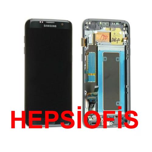 Samsung Galaxy S7 Sm-g930f Lcd Ekran Dokunmatik Servis Orjinali Siyah