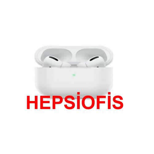 hepsiofis Apple Airpods Pro Kýlýf Ince Slim Zar Silikon Beyaz Renk