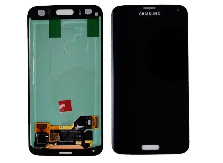 SAMSUNG GALAXY S5 G900 LCD EKRAN DOKUNMATÝK SÝYAH ( %100 UYUMLU )