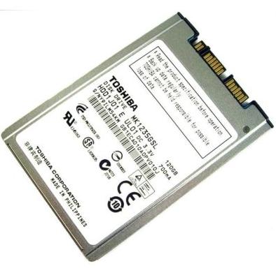 Toshiba MK1235GSL 120Gb 1.8' Notebook Diski 501491-001 516484-001