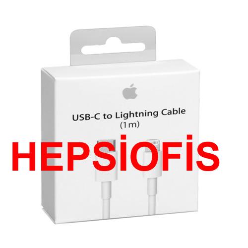 ÝPhone 11 iPad 11 Usb-c Lightning Þarj Kablosu MK0X2Z 1M Ýthalatçý Garanti
