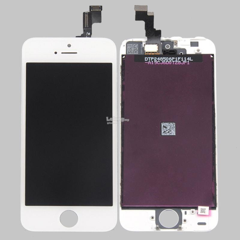 Apple iPhone 5 Lcd Ekran montaj seti+Kýrýlmaz Hediyeli ( ÝPHONE 5 UYUMLU AAA KALÝTE KIRILMAZ HEDÝEYLÝ )