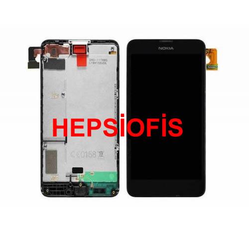 Nokia Lumia 630 LCD Ekran Dokunmatik Orjinal