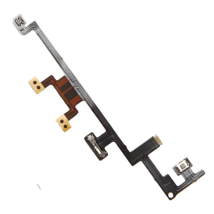 Apple iPad 3 iPad3 A1403 A1430 A1416 821-1256-06 HF/e1 21-1196 Güç Açýp Kapatma Power On Off Ses Kontrol Buton Düðme Flex Kablo Power On/Off Volume flex Ribbon Cable
