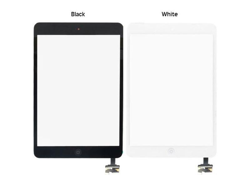 ÝPad Mini Dokunmatik Tablet Camý Dokunmatik Siyah-Beyaz