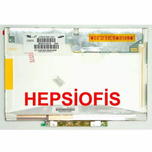 12.1 B121EW07 V.0 LTN121W3-L01 LTD121EW7V N121IB-L01 HP 2510P Elitebook 2530P Led Lcd Panel Ekran