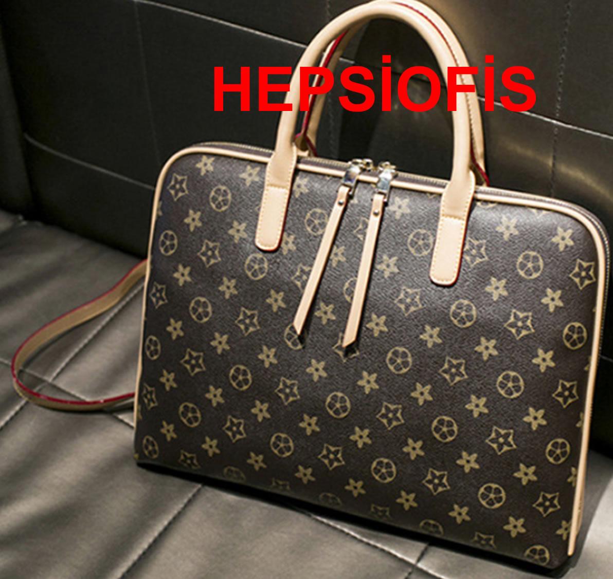 Louis Vuitton Still Bayan Macbook Notebook Çantasý 13.3