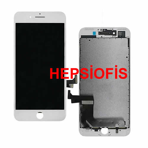 Apple Iphone 7 Lcd Ekran Beyaz Lcd Ekran Orjinal Kalite AAA SIFIR üRÜN