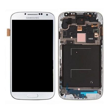 SAMSUNG S4 I9500 LCD EKRAN BEYAZ  NOAMOLED