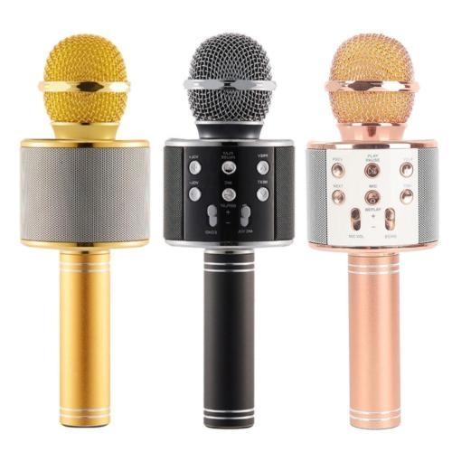 2018 MODEL Sihirli Karaoke Bluetooth Mikrofon AUX SD KART GÝRÝÞLÝ ( SIFIR ÜRÜN )