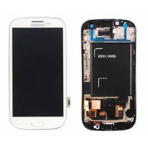 Samsung Galaxy S3 i9300 Lcd Ekran Ve Dokunmatik, Beyaz A KALÝTE  SIFIR FATURALI