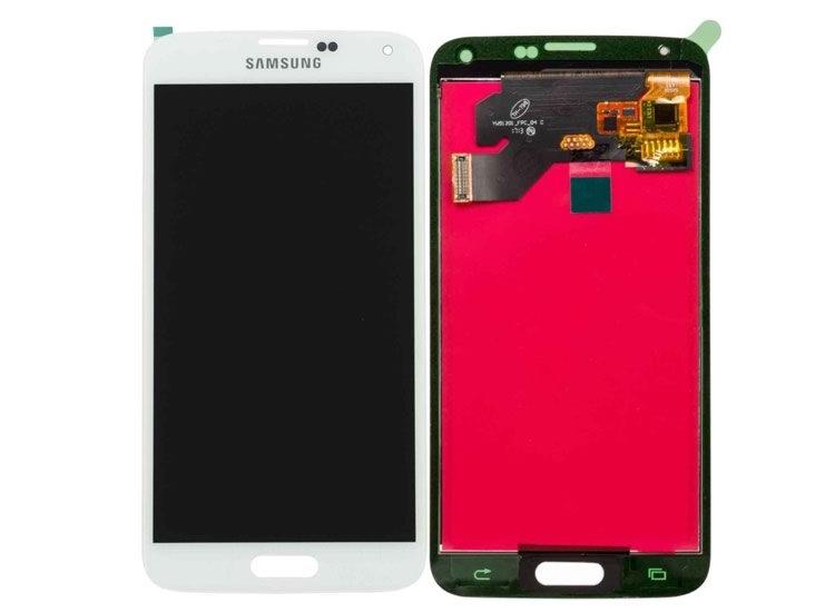 SAMSUN GALAXY S5 G900 LCD EKRAN DOKUNMATÝK BEYAZ ( SIFIR ÜRÜN % 100 S5 UYUMLU )