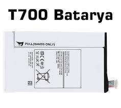 SAMSUNG GALAXY TAB S 8 4 T700 T705 EB BT705FBC ORJ PÝL BATARYA  orjinal