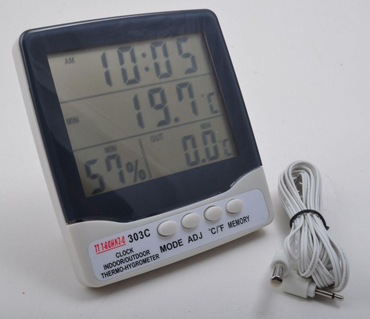 TT Technic 303C Sýcaklýk Nem Ölçer Termometre ( TT Technic 303C Sýcaklýk Nem Ölçer Termometre )